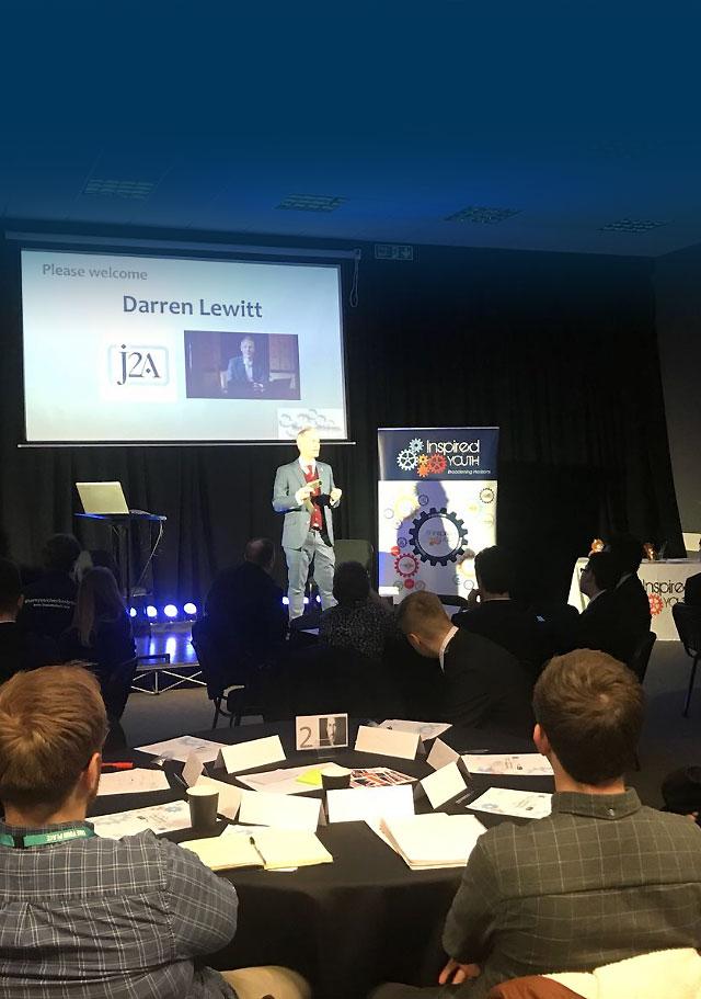 Darren Lewitt just2Achieve Academy