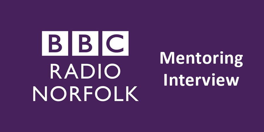 BBC Radio Norfolk Mentoring Interview