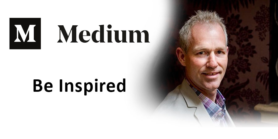 Medium article be inspired by Darren Lewitt