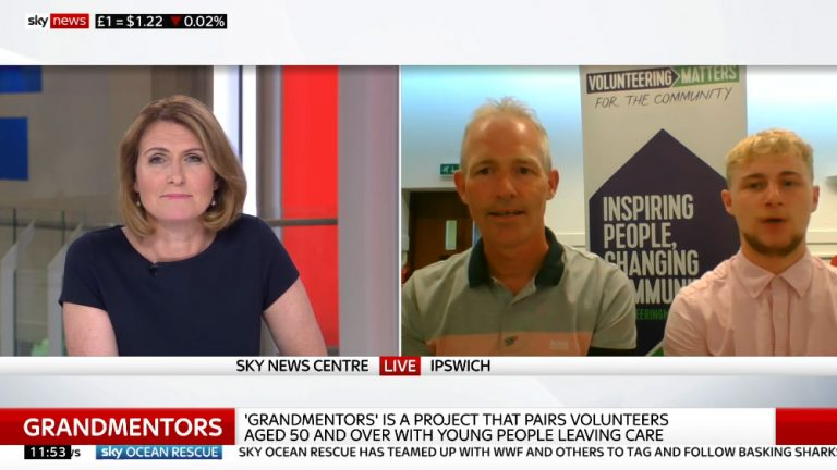 sky news interview darren lewitt